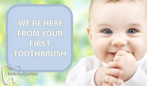 We take care of your child's dental needs